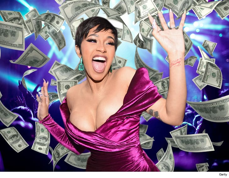 Cardi B Became A Mother And Her Price Tag Went Up To $300k
