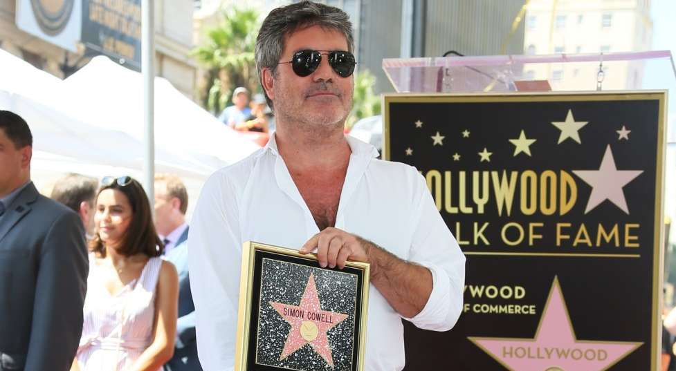 Britain's Got Talent Judge Simon Cowell Gets A Star On Hollywood Walk Of Fame