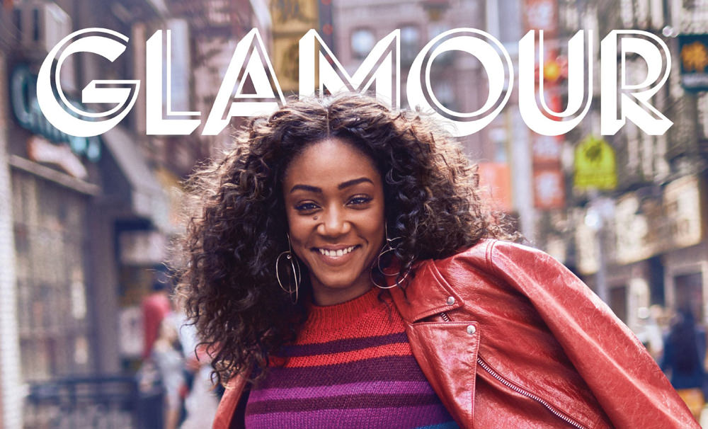 Tiffany Haddish Covers The Latest Issue Of Glamour Magazine