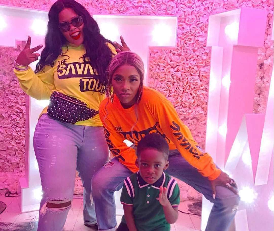 #Thesavagetour: Tiwa Savage And JamJam At The Pop Up Shop In London