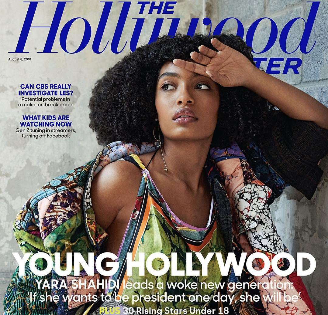 Yara Shahidi Stuns On The Cover Of The Hollywood Reporter