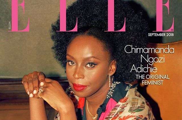 Chimamanda Ngozi Adichie Covers Elle India's September Issue