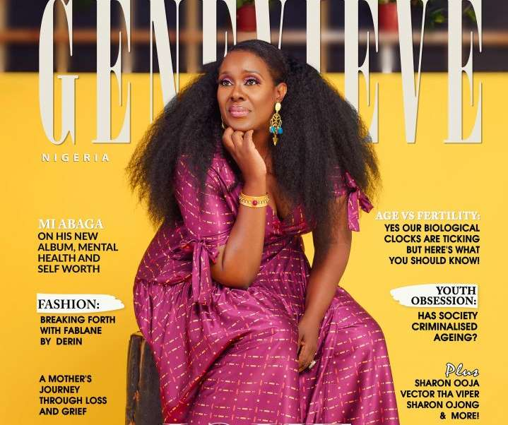 Joke Silva Is The Cover Star For Genevieve Magazine's Latest Issue
