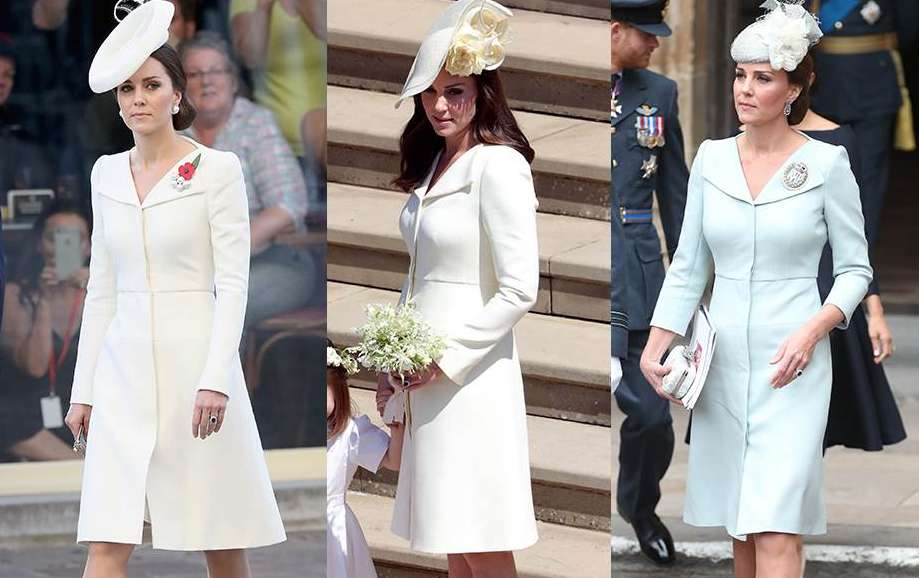 10 Dresses Kate Middleton Owns In More Than One Colour