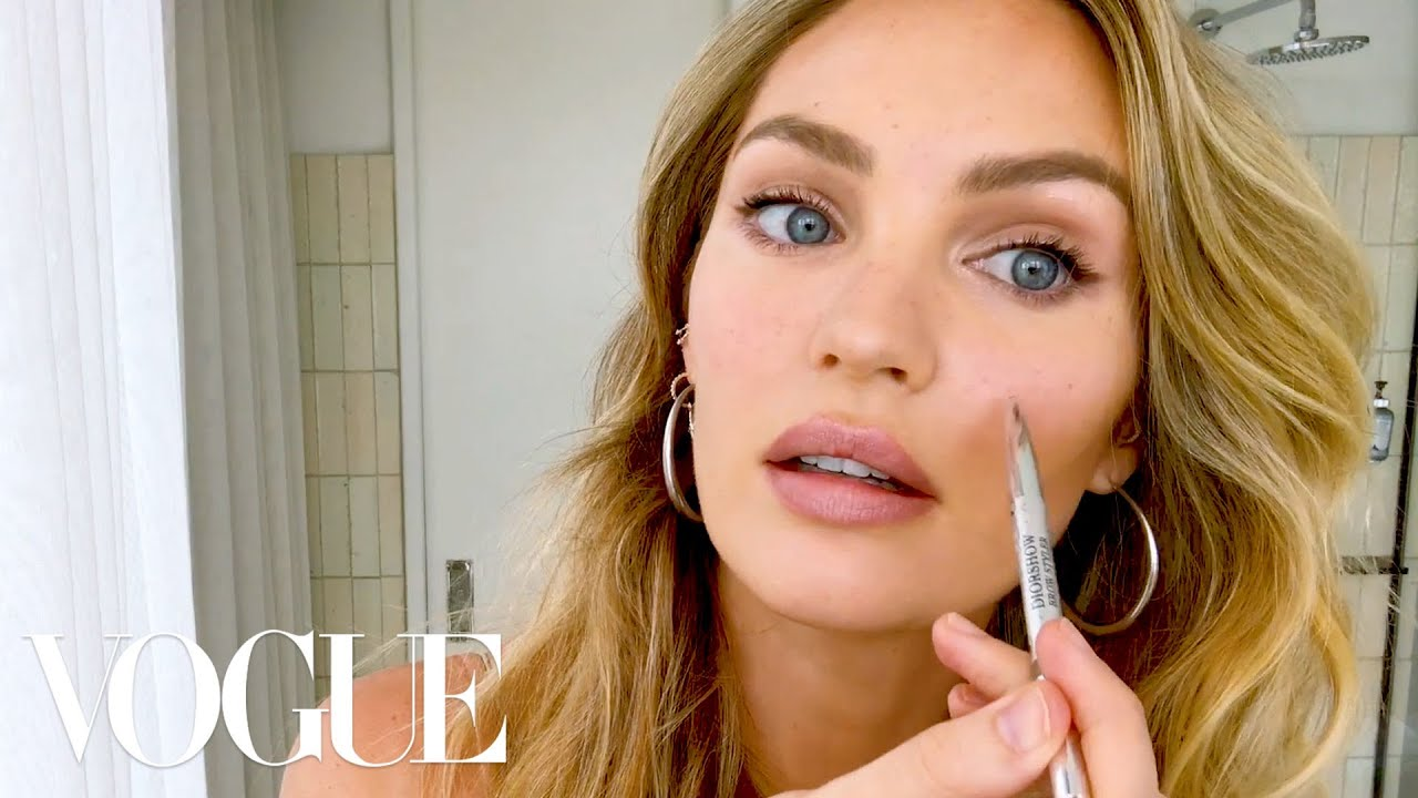 Watch Candice Swanepoel's 10-Minute Guide To Fake Natural