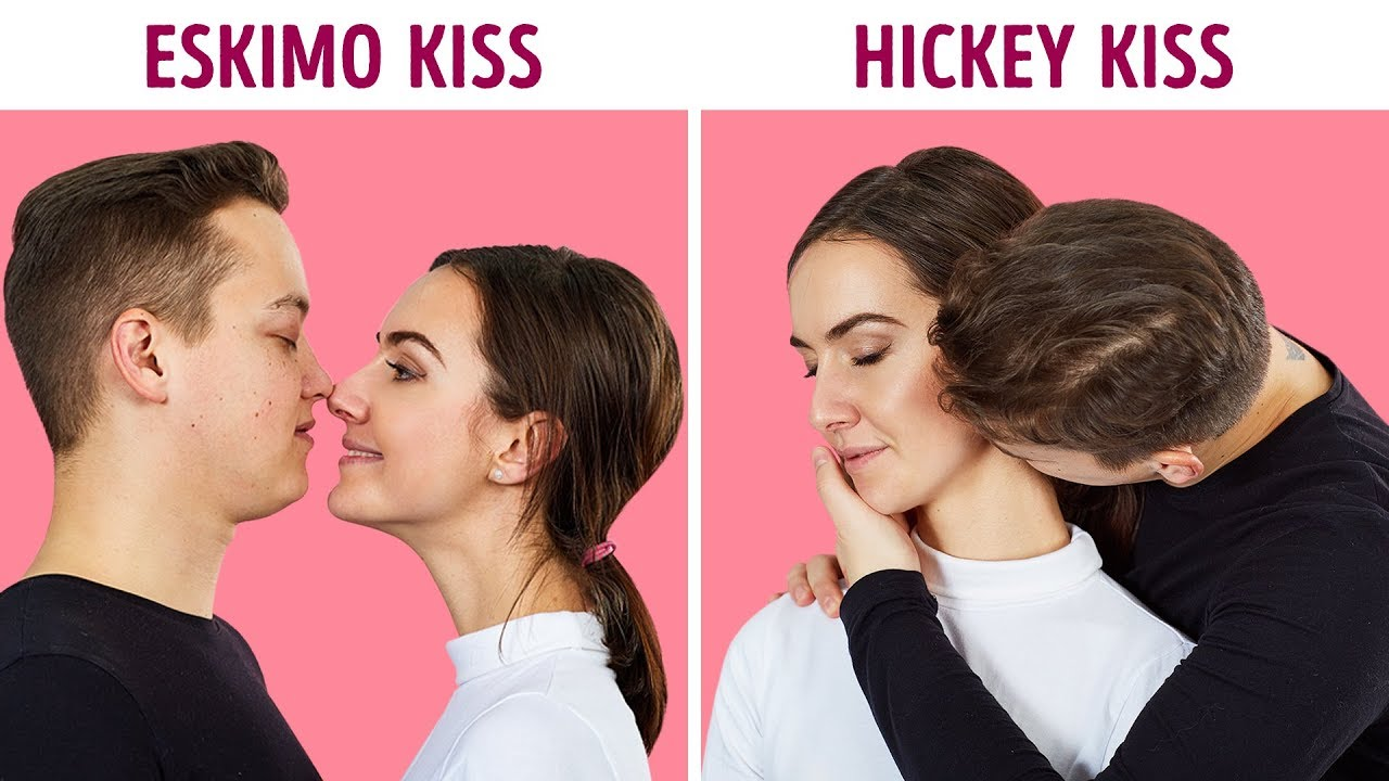 18 Types Of Kisses And What They Actually Mean