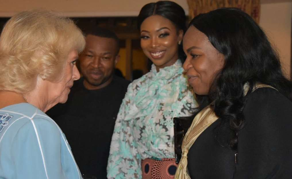 #RoyalVisitNigeria: Bolanle Olukanni, Bukola And Toyin Saraki Meet With Prince Charles And Camilla