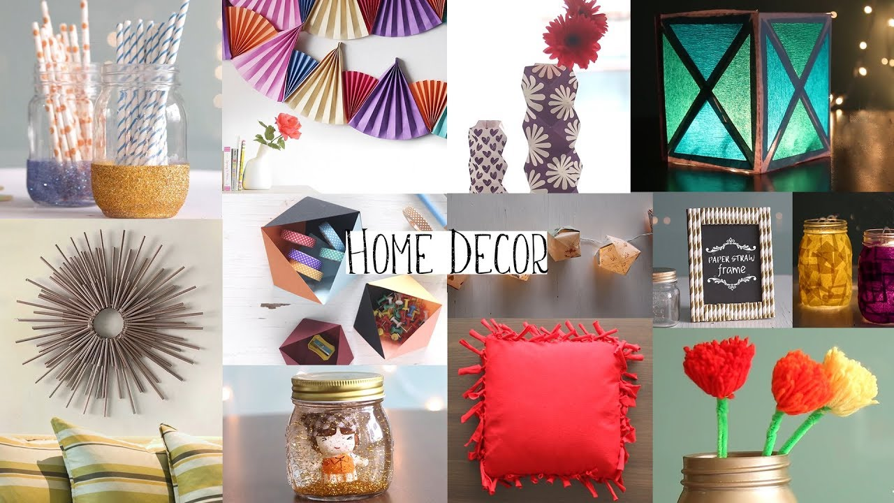 home decorating ideas creative and cheap bedroom | DIY: Top 20 Home Decor Ideas You Should Try Out | Kamdora