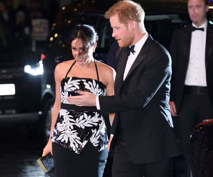 Pictures Of Harry & Meghan Markle At The Royal Variety Performance 2018