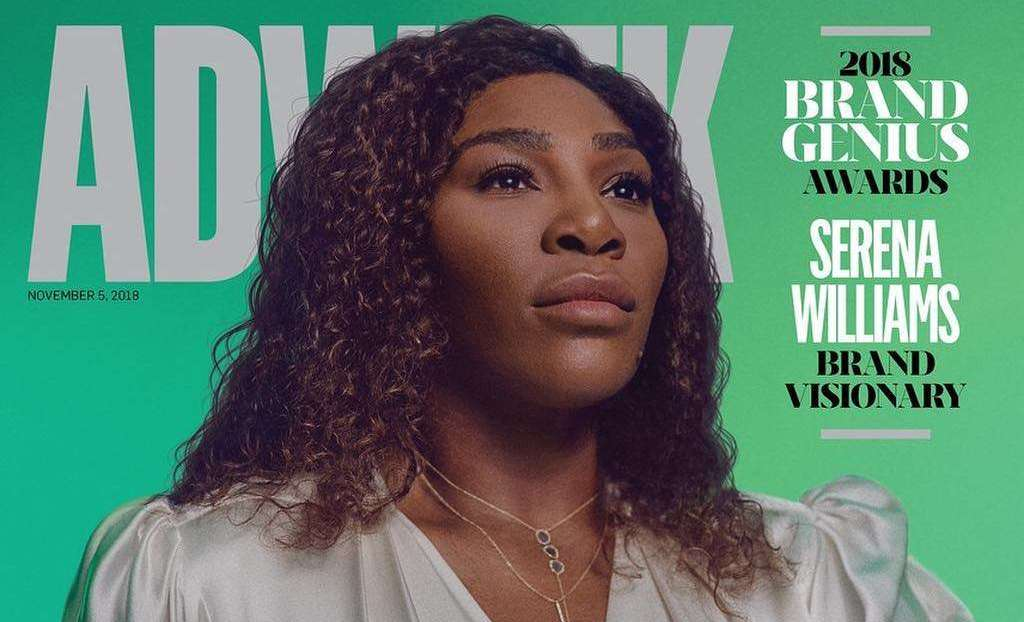Serena Williams Is The 2018 Brand Visionary For Adweek