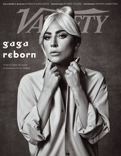 Lady Gaga Covers The Latest Issue Of Variety Magazine