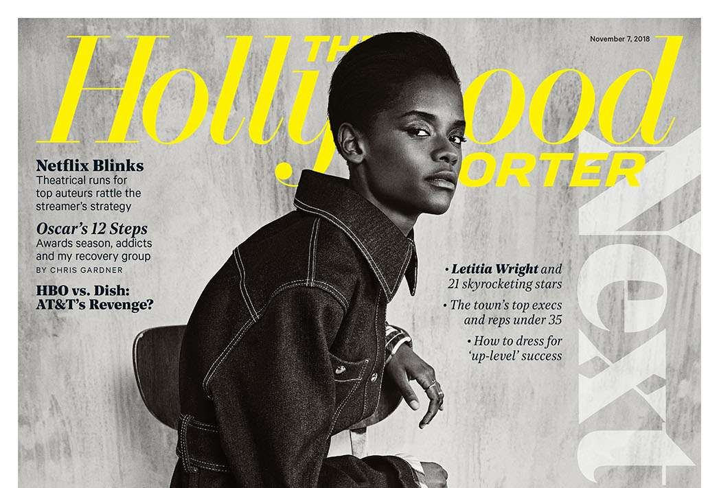 Letitia Wright Is The Cover Girl Of Hollywood Reporter 'Next Generation' Issue