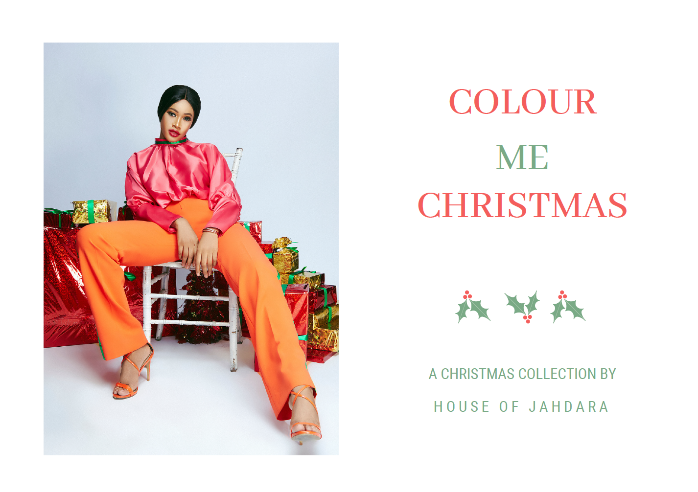 All The Colors Are Out For House of Jahdara Christmas Collection!