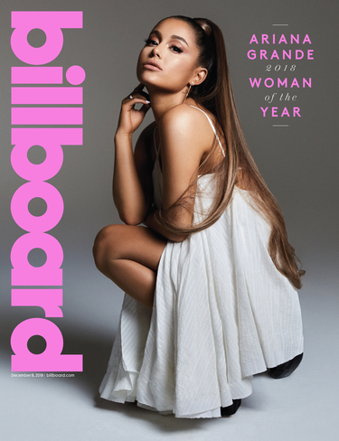 """""""There Is Not Much I'm Afraid Of Anymore"""" – Ariana Grande Is Billboard's 2018 Woman Of The Year"""