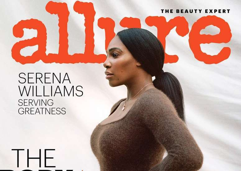 Serving Greatness: Serena Williams Stuns on the cover of Allure Magazine's Latest Issue 😍
