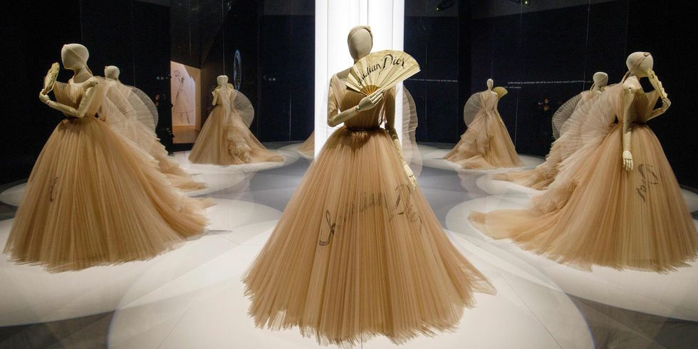 Pictures From Christian Dior's Exhibit At The V&A Museum in London