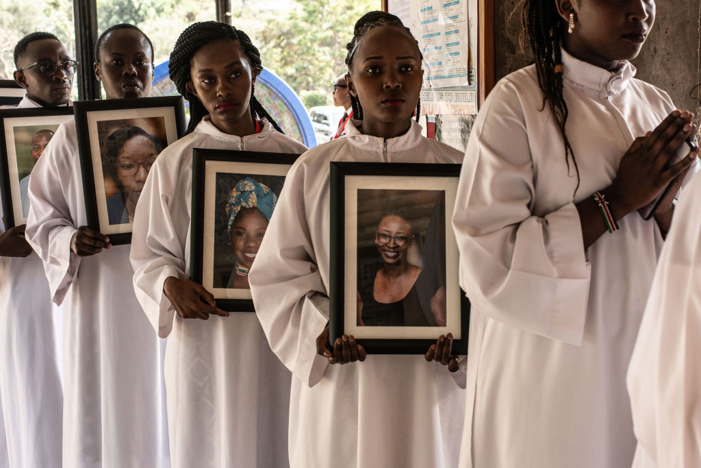 Pictures From The Memorial Service held for Nairobi Hotel Terror Attack Victims