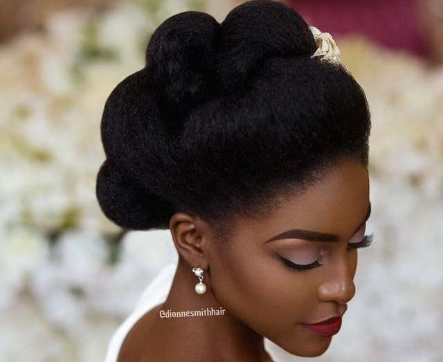 Bridal Hairstyles: To The Natural Brides