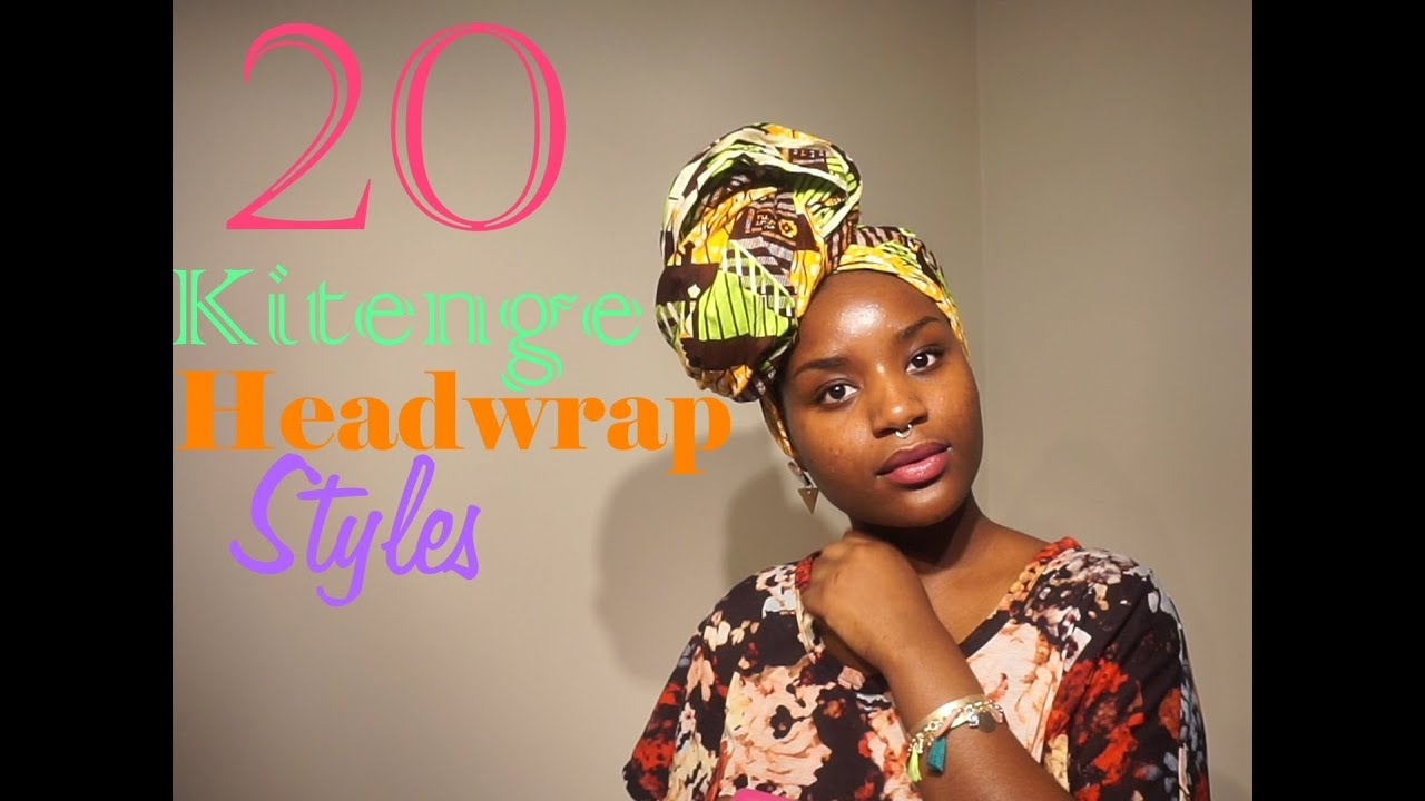 These Ankara Head Wrap Styles Would Make You Dump Your Wigs