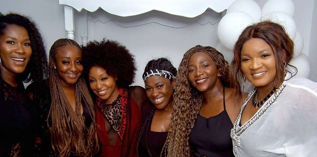 Nollywood Reunion: Stephanie Linus, Genevieve Nnaji, Rita Dominic And Others Went For An All Girls Hangout!