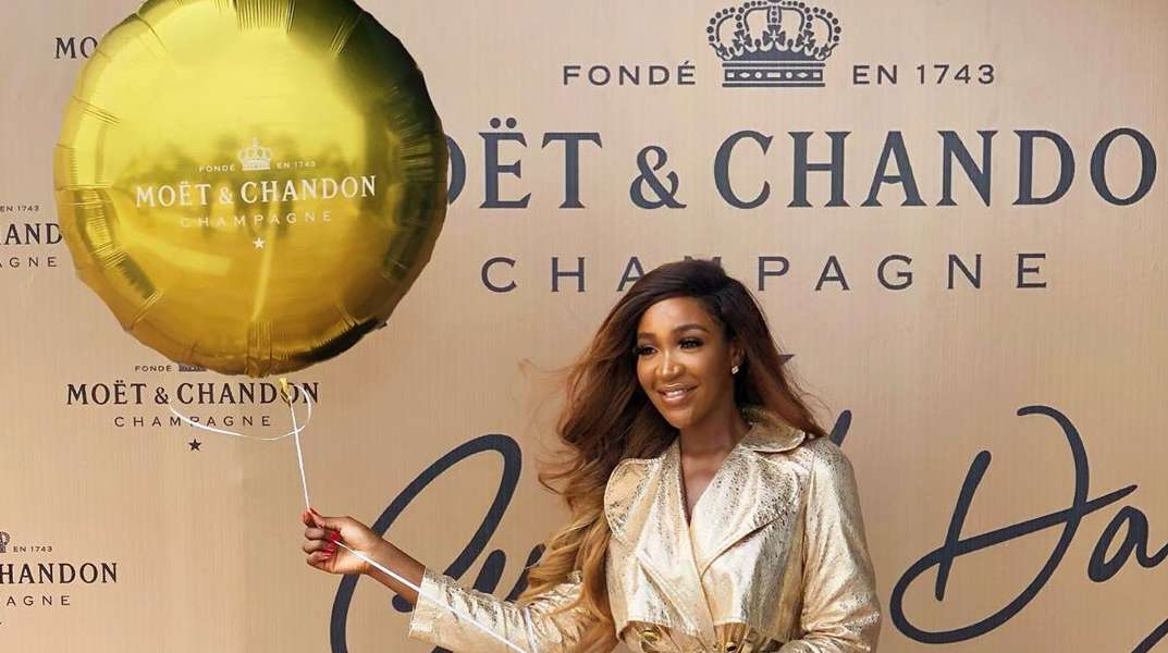 Our Favourite Celebrities Looked Golden At The Moët and Chandon Grand Day Event